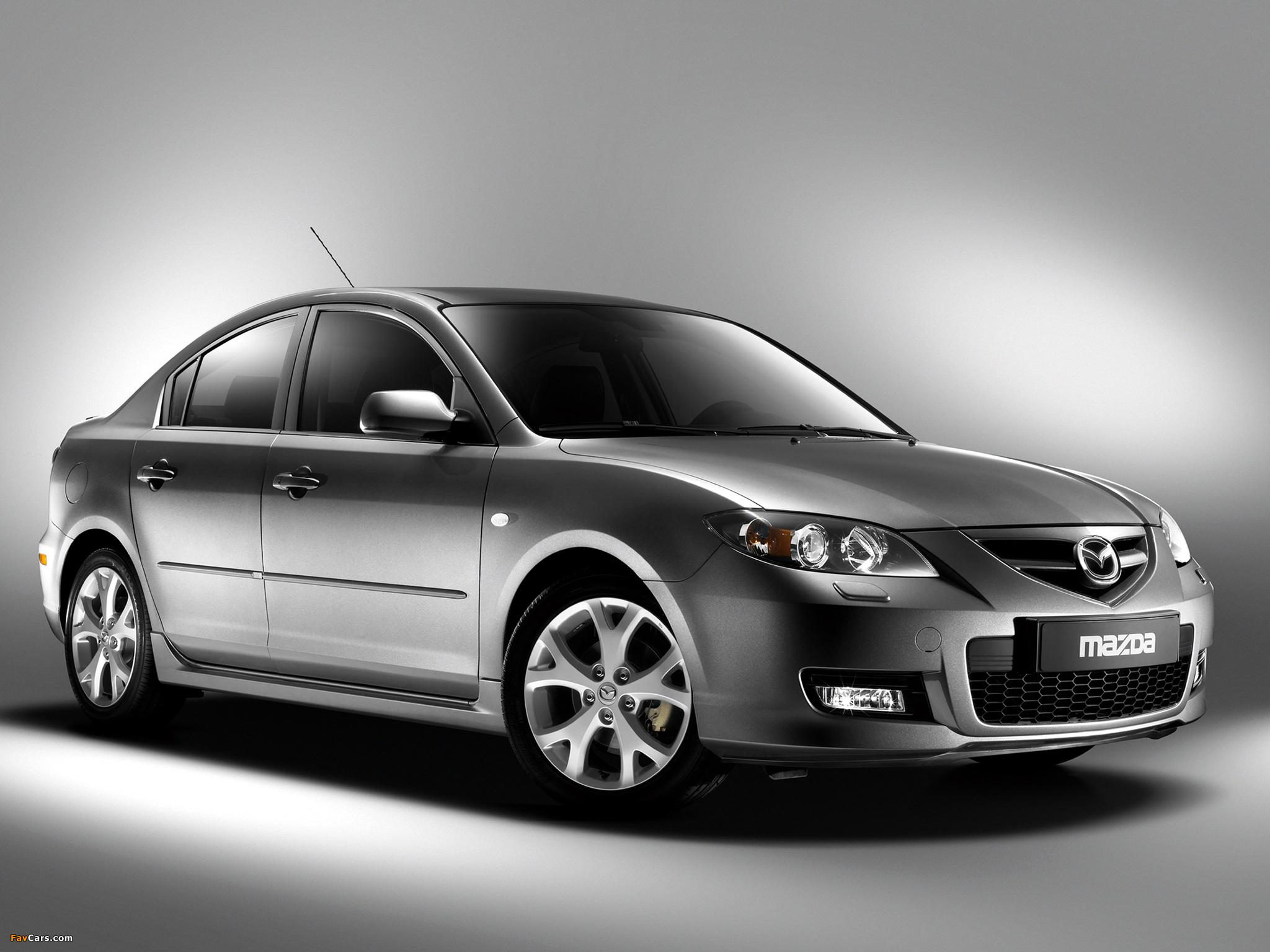 Mazda3 Sport Sedan (BK2) 2006–09 photos (2048 x 1536)