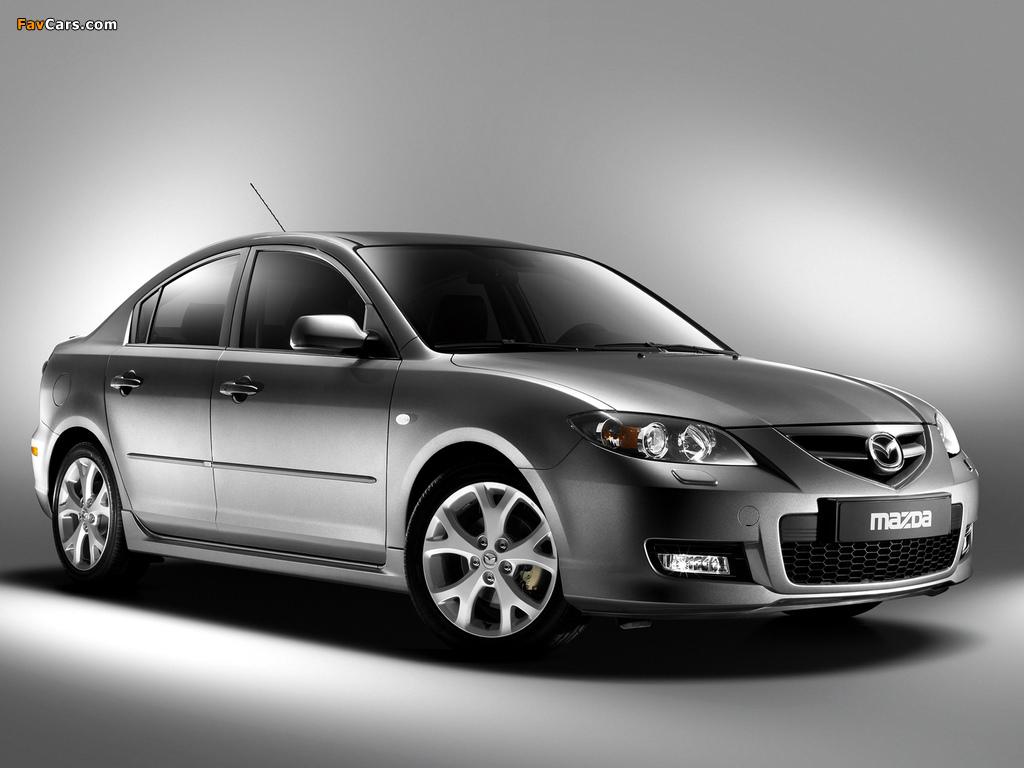Mazda3 Sport Sedan (BK2) 2006–09 photos (1024 x 768)