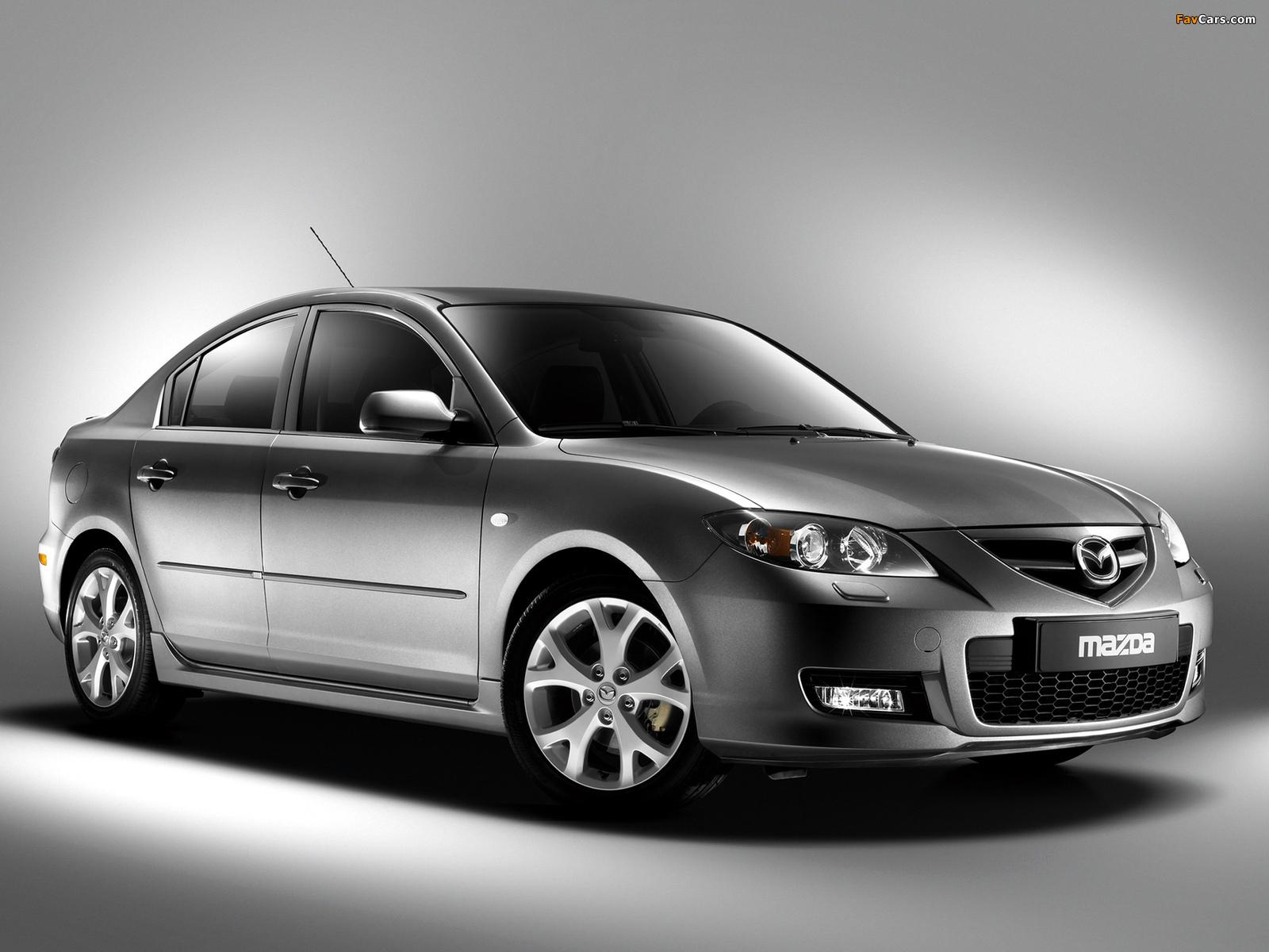Mazda3 Sport Sedan (BK2) 2006–09 photos (1600 x 1200)