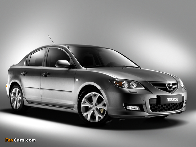 Mazda3 Sport Sedan (BK2) 2006–09 photos (640 x 480)