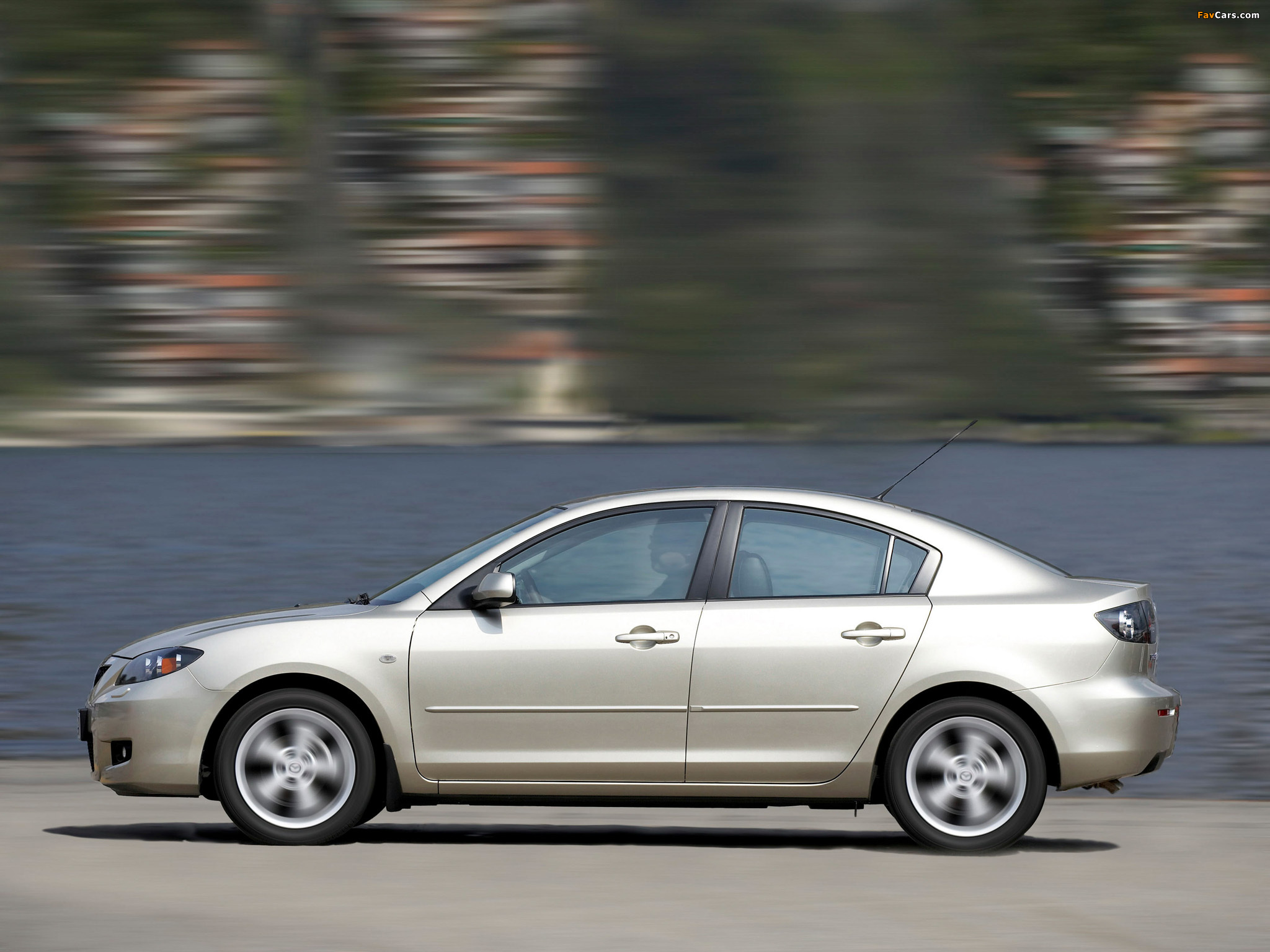 Mazda 3 Sedan 2006–09 photos (2048 x 1536)