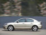 Mazda 3 Sedan 2006–09 photos