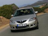 Mazda 3 Sedan 2006–09 pictures