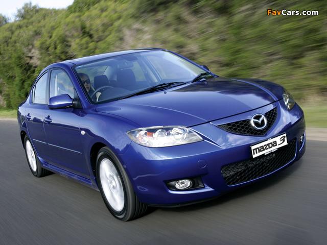 Mazda3 Sedan AU-spec (BK2) 2006–09 pictures (640 x 480)