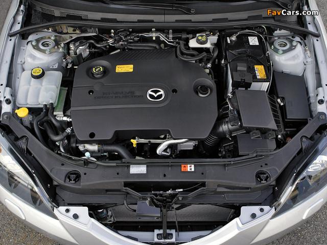 Mazda 3 Sedan 2006–09 pictures (640 x 480)