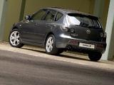 Mazda3 Sport Hatchback ZA-spec (BK2) 2006–09 pictures