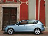 Mazda 3 Hatchback 2006–09 wallpapers