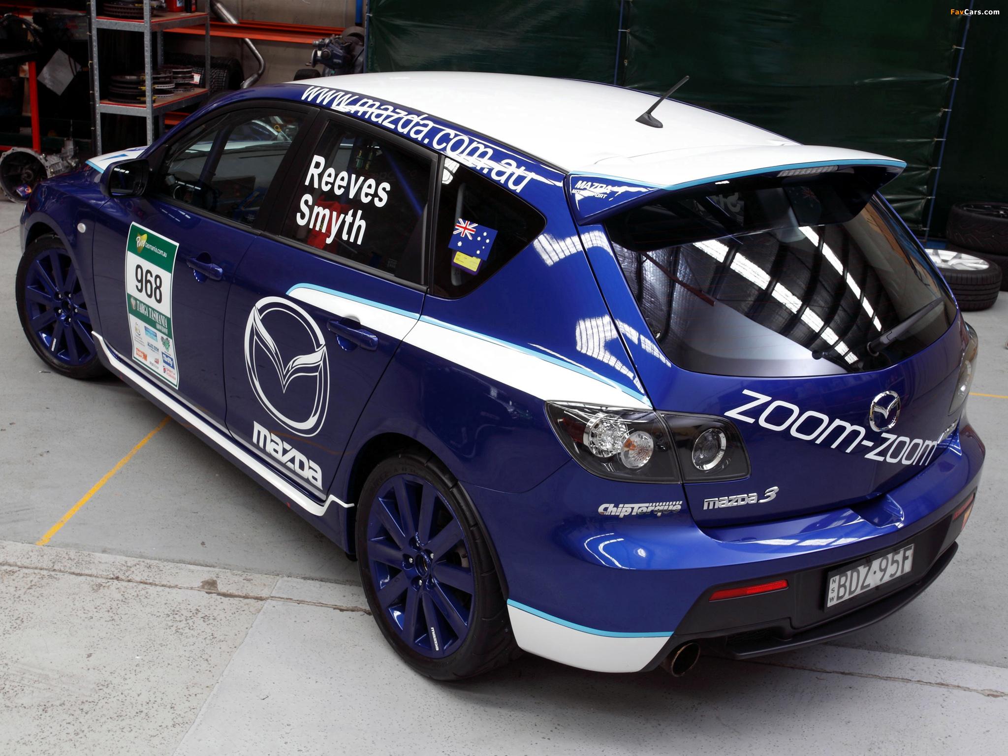 Mazda3 MPS Targa Tasmania 2007–09 images (2048 x 1536)