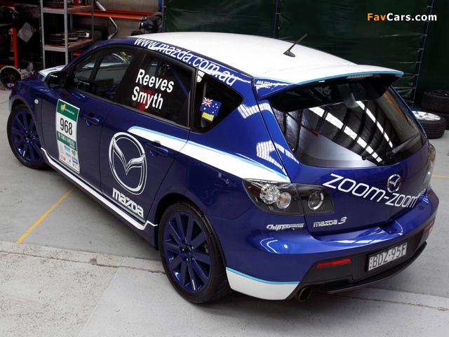 Mazda3 MPS Targa Tasmania 2007–09 images (640 x 480)