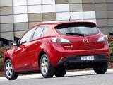 Mazda3 Hatchback AU-spec (BL) 2009–11 images