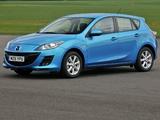 Mazda3 Hatchback UK-spec (BL) 2009–11 images