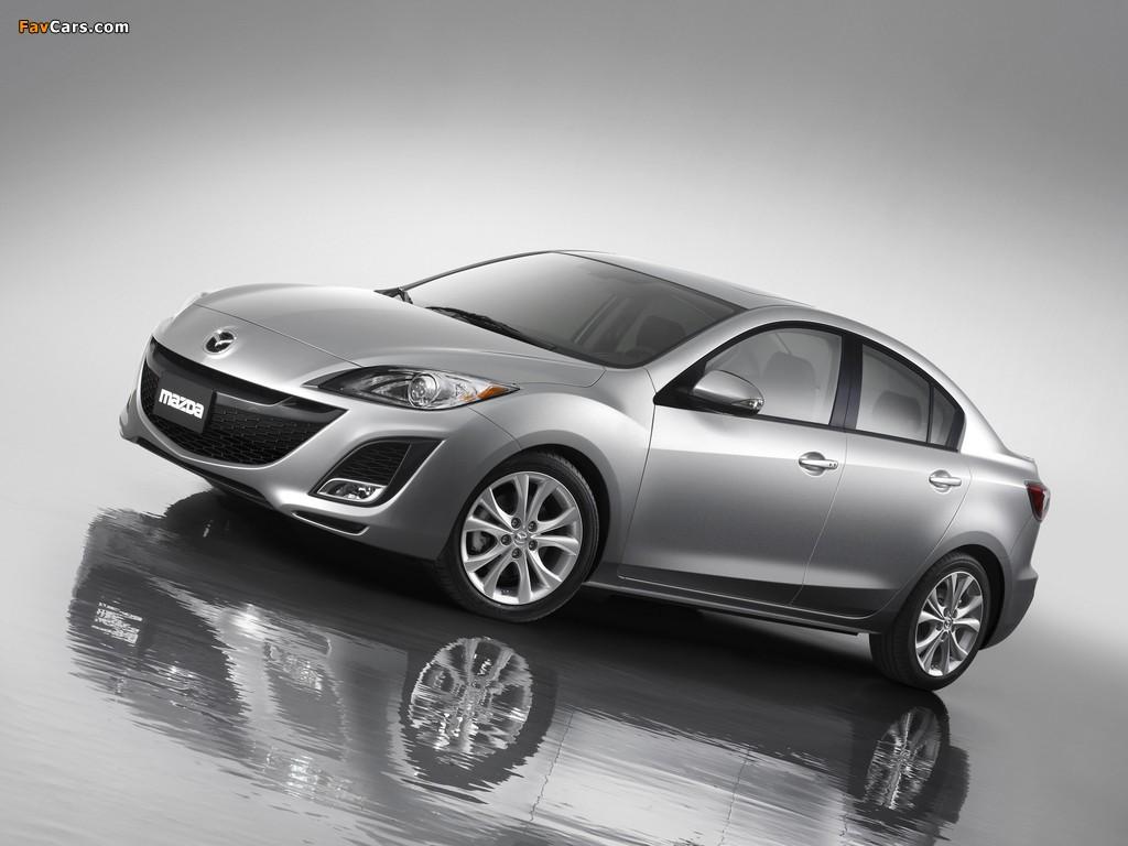 Mazda3 Sedan US-spec (BL) 2009–11 images (1024 x 768)