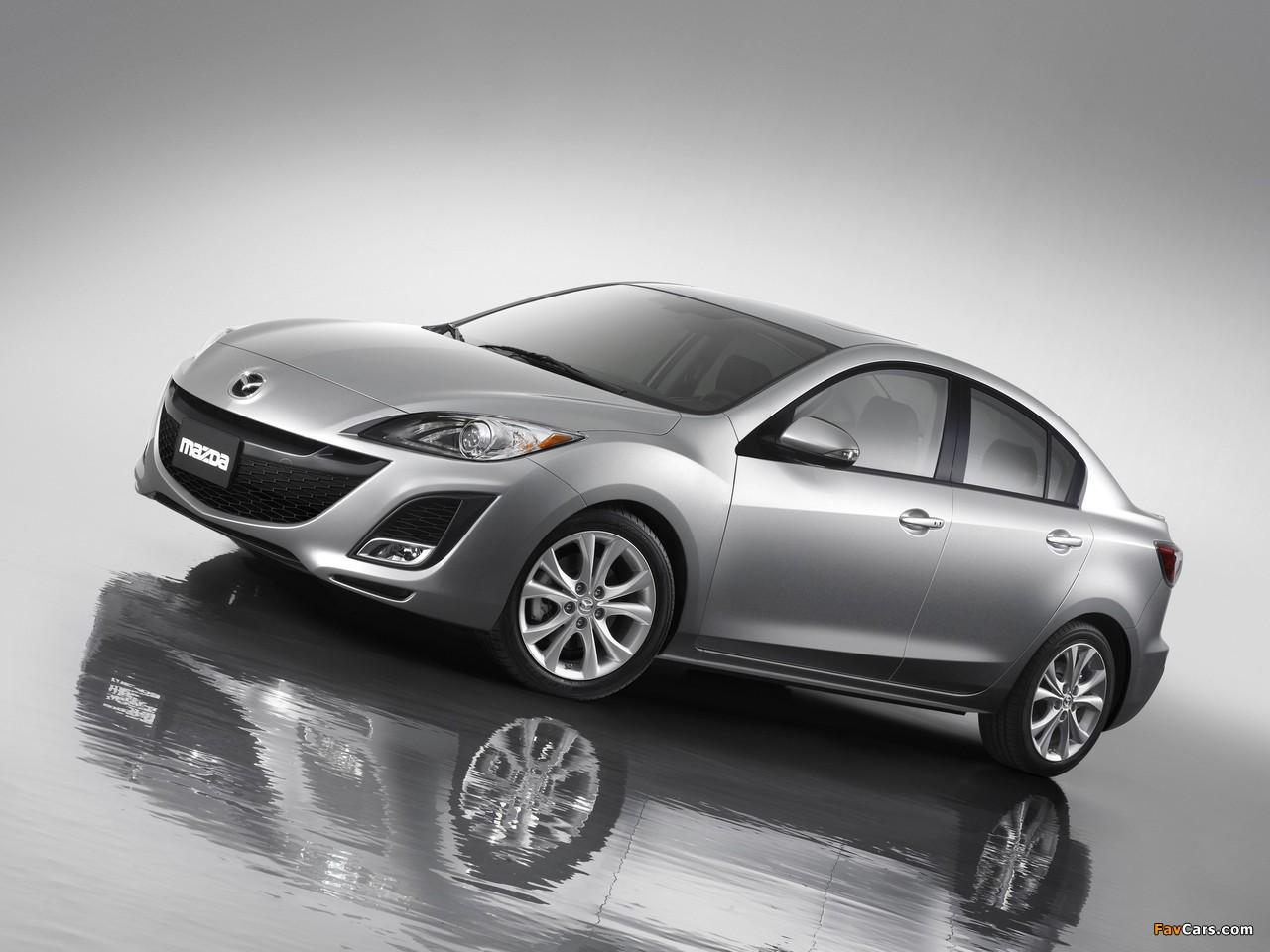 Mazda3 Sedan US-spec (BL) 2009–11 images (1280 x 960)