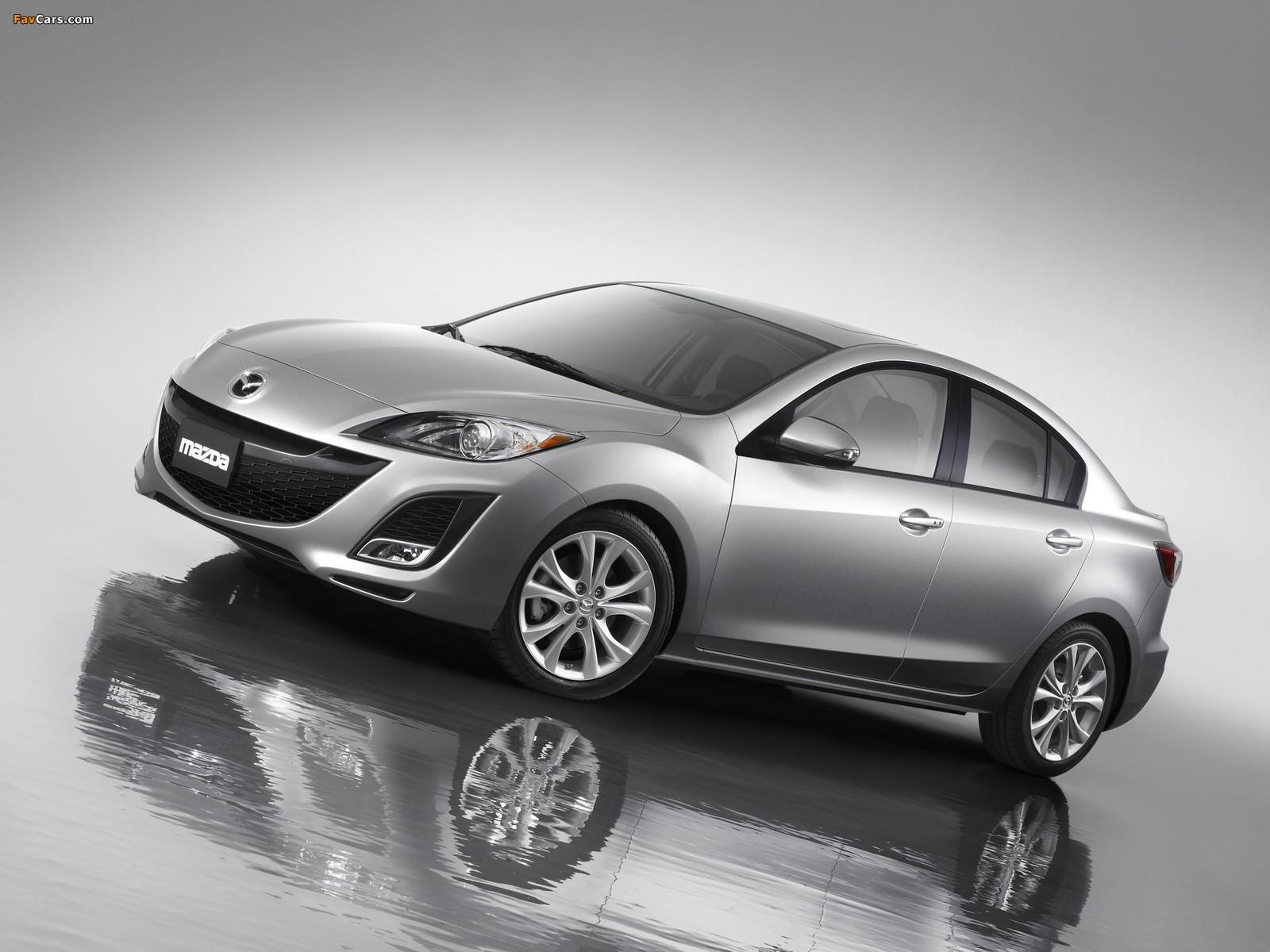 Mazda3 Sedan US-spec (BL) 2009–11 images (1600 x 1200)