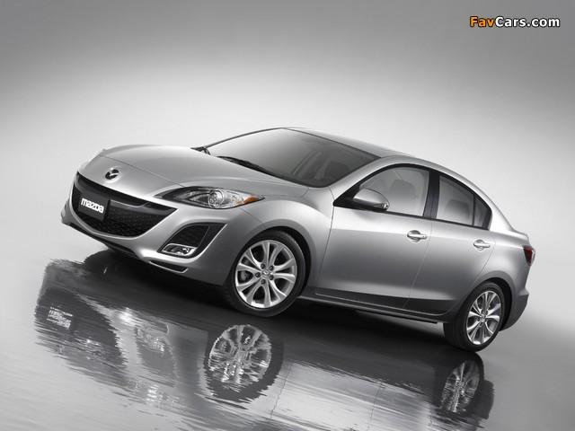 Mazda3 Sedan US-spec (BL) 2009–11 images (640 x 480)