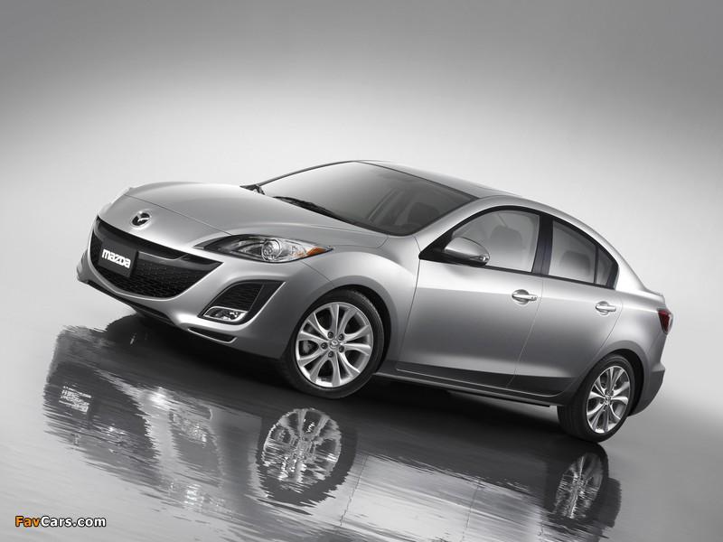 Mazda3 Sedan US-spec (BL) 2009–11 images (800 x 600)