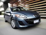 Mazda3 Sedan AU-spec (BL) 2009–11 images