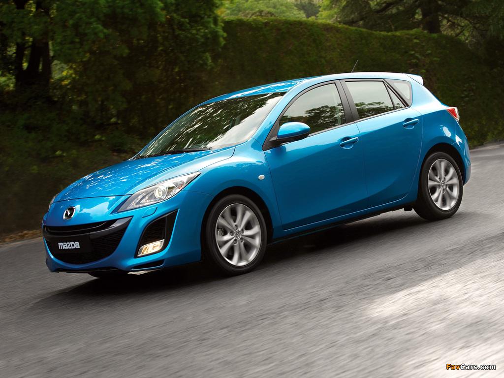 Mazda 3 Hatchback 2009–11 images (1024 x 768)