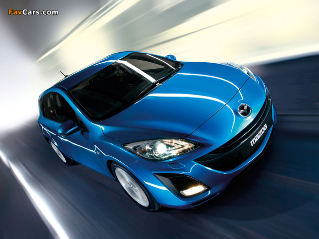 Mazda 3 Hatchback 2009–11 photos (640 x 480)