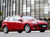 Mazda3 Hatchback AU-spec (BL) 2009–11 photos