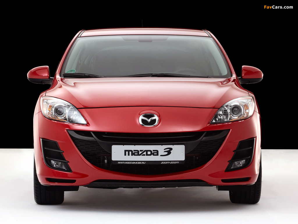 Mazda 3 Hatchback 2009–11 photos (1024 x 768)