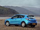 Mazda3 Hatchback UK-spec (BL) 2009–11 pictures