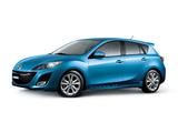 Mazda3 Hatchback US-spec (BL) 2009–11 pictures