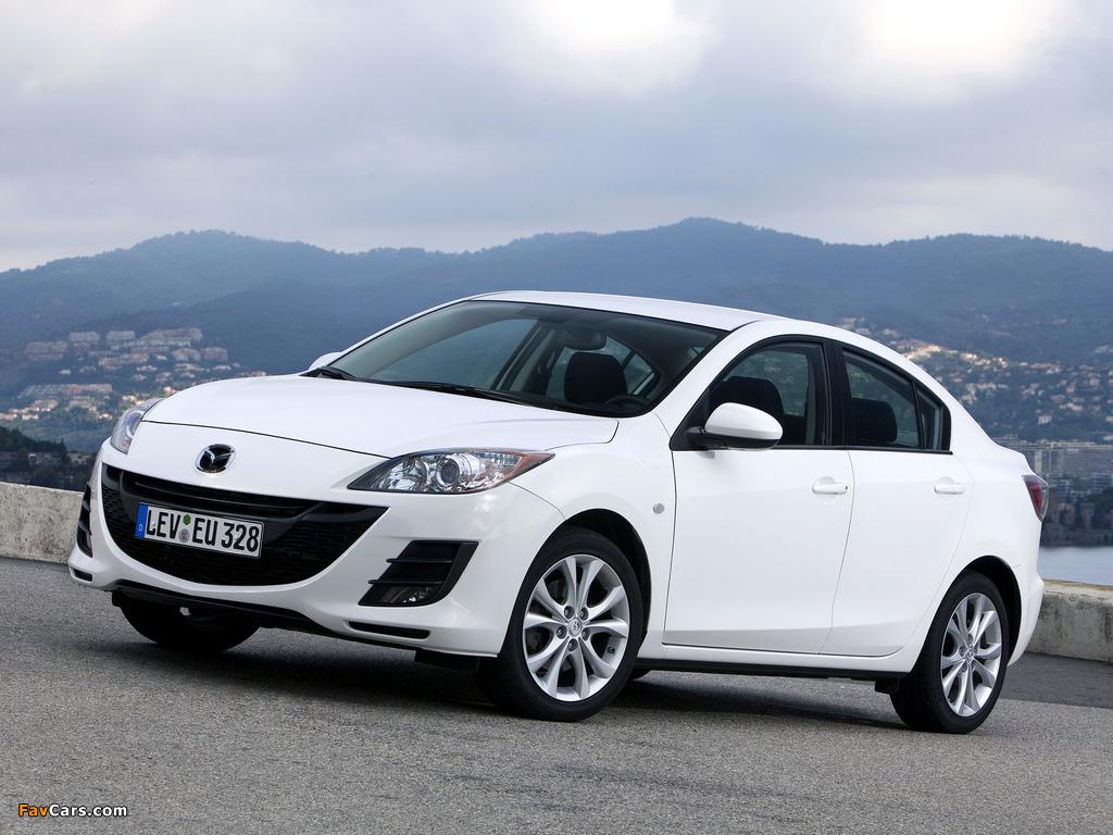 Mazda3 Sedan (BL) 2009–11 pictures (1024 x 768)