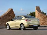 Mazda3 Sedan (BL) 2009–11 wallpapers