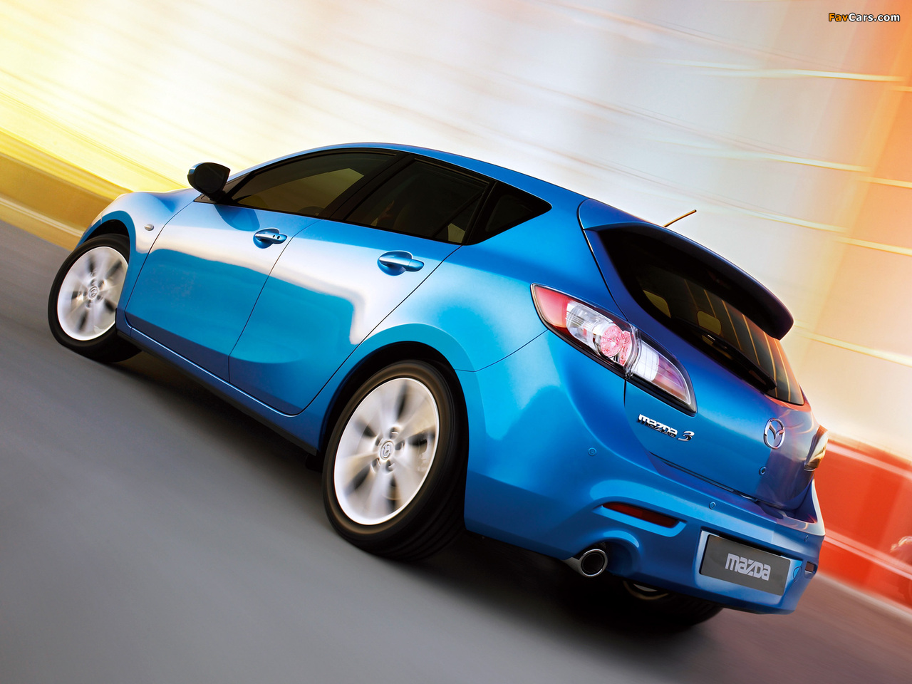 Mazda 3 Hatchback 2009–11 wallpapers (1280 x 960)