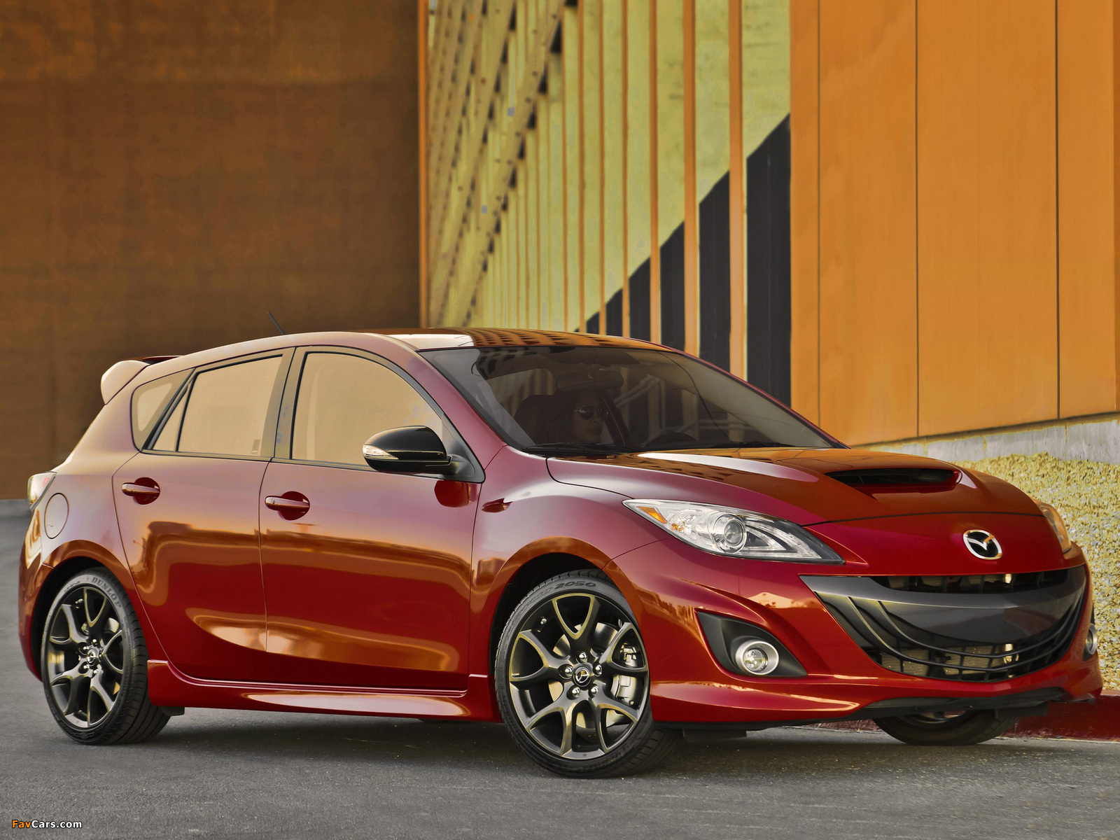 Mazdaspeed3 (BL) 2009–13 wallpapers (1600 x 1200)