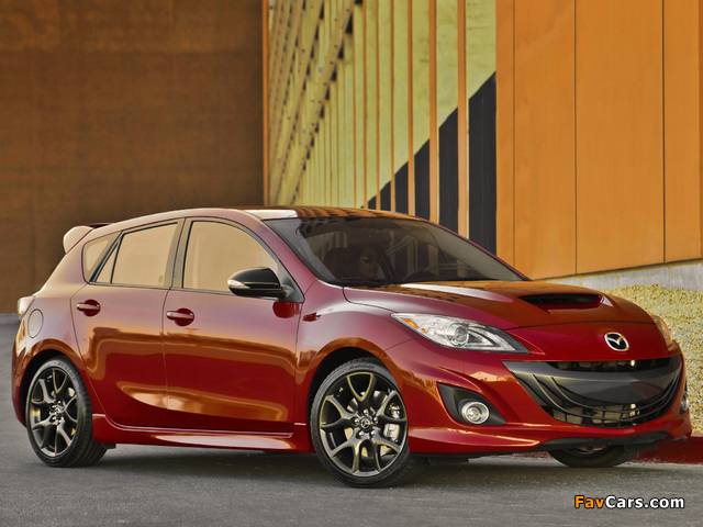 Mazdaspeed3 (BL) 2009–13 wallpapers (640 x 480)