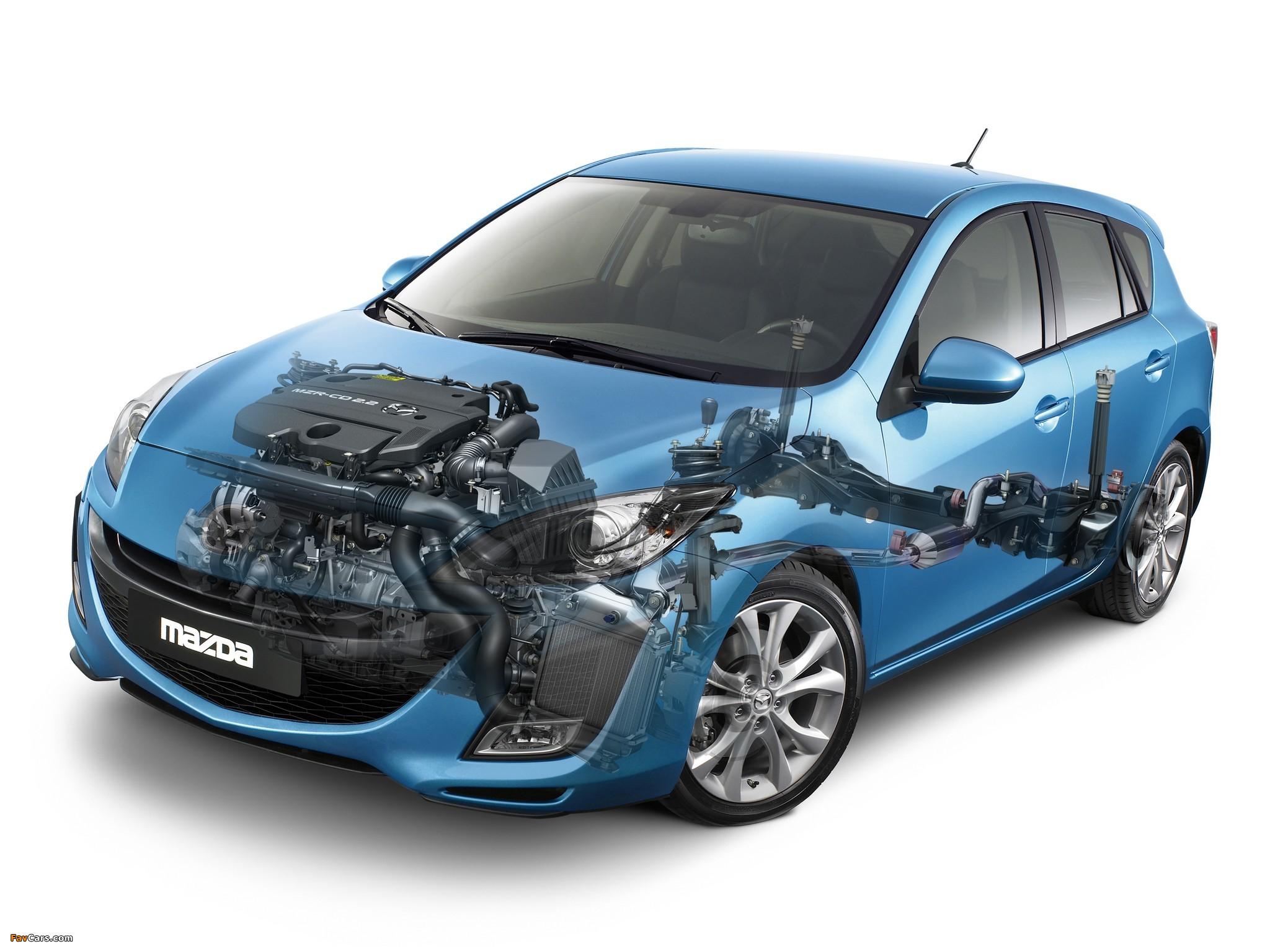 Mazda 3 Hatchback 2009–11 wallpapers (2048 x 1536)