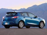Mazda3 Hatchback US-spec (BL2) 2011–13 pictures