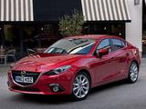 Mazda3 Sedan UK-spec (BM) 2013 images