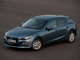 Mazda3 Hatchback UK-spec (BM) 2013 images