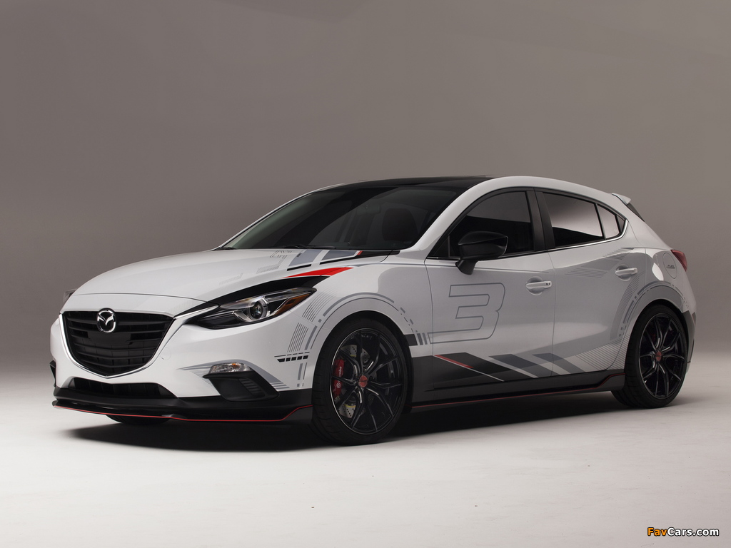 Mazda Club Sport 3 Concept (BM) 2013 pictures (1024 x 768)