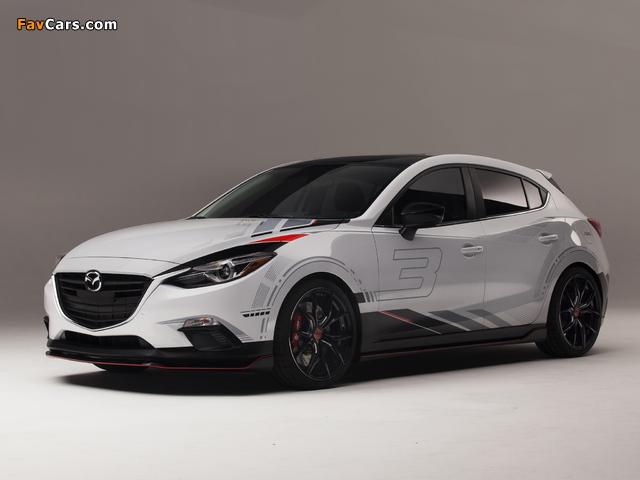 Mazda Club Sport 3 Concept (BM) 2013 pictures (640 x 480)