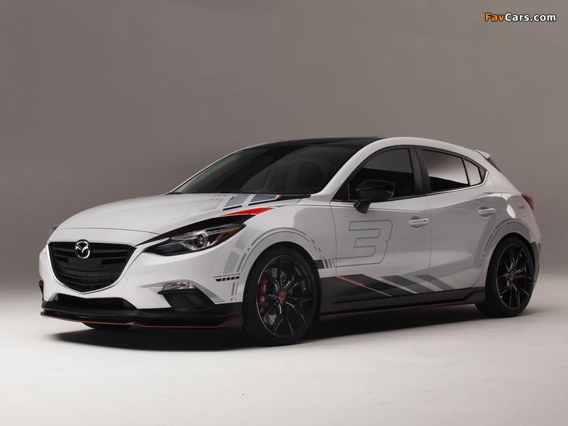 Mazda Club Sport 3 Concept (BM) 2013 pictures (800 x 600)