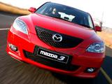 Photos of Mazda3 Hatchback ZA-spec 2003–06