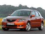 Photos of Mazda 3 Hatchback 2003–06