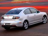 Photos of Mazda3 Sport Sedan ZA-spec (BK) 2004–06