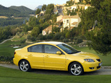 Photos of Mazda3 Sedan (BK) 2004–06