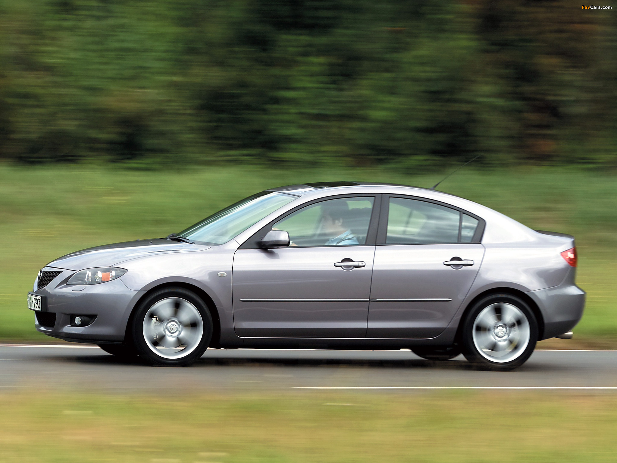 Photos of Mazda3 Sedan (BK) 2004–06 (2048 x 1536)