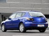 Photos of Mazda 3 Hatchback 2006–09