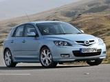 Photos of Mazda3 Sport Hatchback UK-spec (BK2) 2006–09