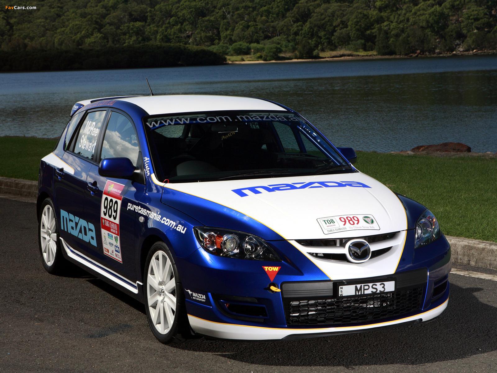 Photos of Mazda3 MPS Targa Tasmania 2007–09 (1600 x 1200)