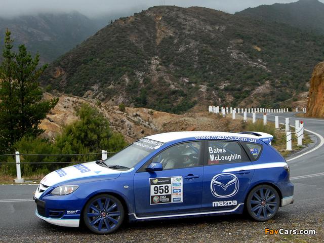 Photos of Mazda3 MPS Targa Tasmania 2007–09 (640 x 480)
