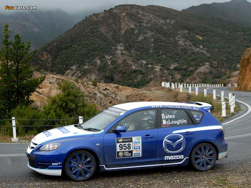 Photos of Mazda3 MPS Targa Tasmania 2007–09 (800 x 600)