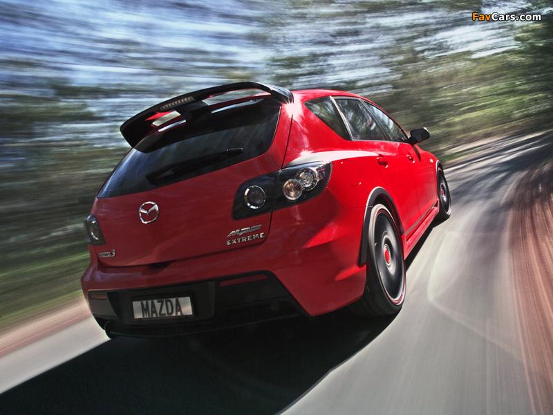 Photos of Mazda3 MPS Extreme Concept (BK) 2007 (800 x 600)